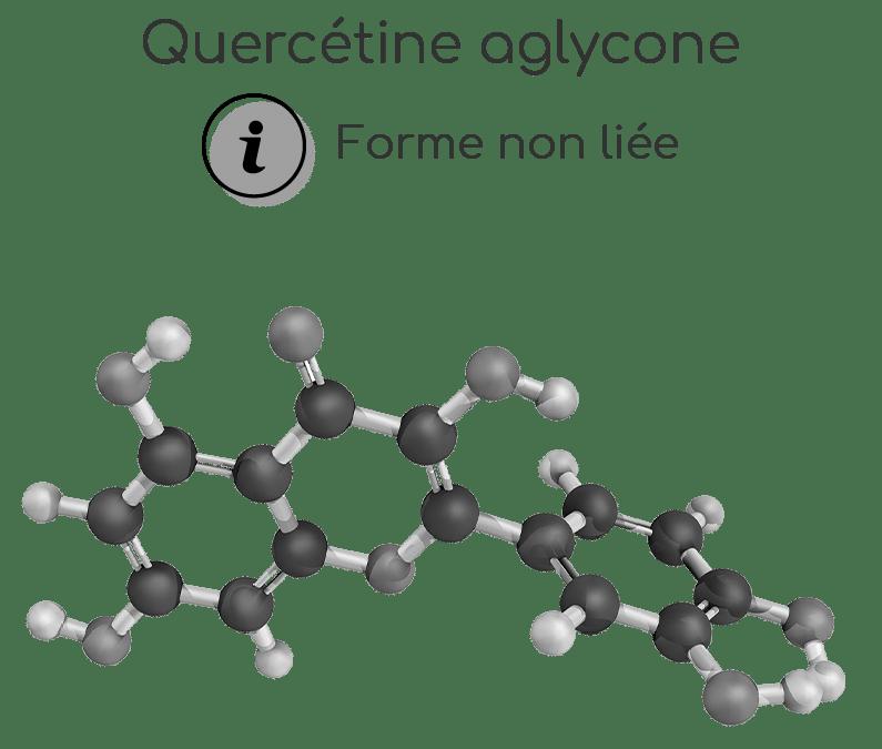Caractéristiques et structure de la quercétine aglycone